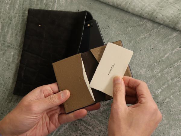 T・MBH 葉合せ 名刺カード